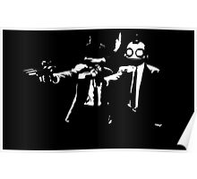 Ratchet and Clank Pulp Fiction Poster