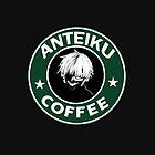 Tokyo Ghoul Anteiku Starbucks by wonnie