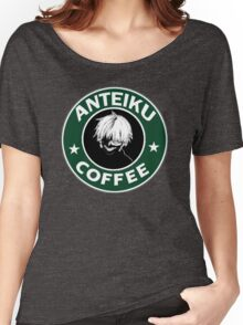 Tokyo Ghoul Anteiku Starbucks Women's Relaxed Fit T-Shirt
