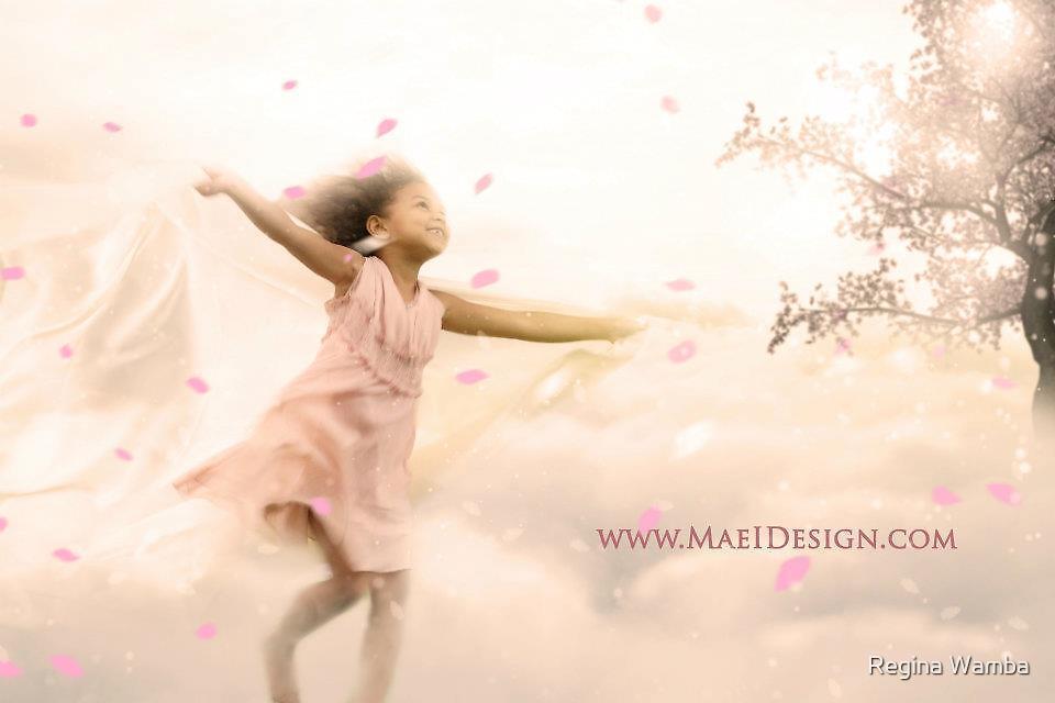 Beneath the blossoms by Regina Wamba