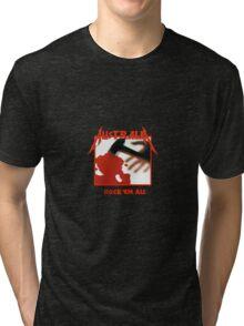 Metallica Australia#2 Tri-blend T-Shirt