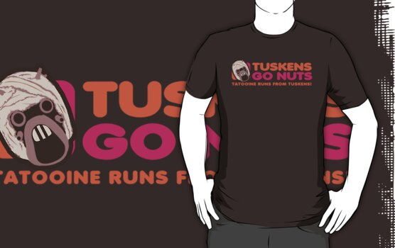 Tuskens Go Nuts by TeeHut