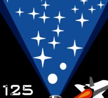 Atlantis STS-125 Mission Patch Sticker