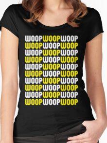 WoopWoopWoopWoopWoopWoop! (Special Edition) Women's Fitted Scoop T-Shirt