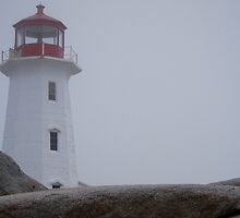 Peggys Point Lighthouse by Alinka