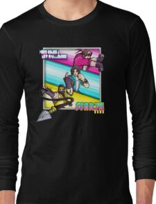 Starbomb Ninja Brian Egoraptor Danny Sexbang Long Sleeve T-Shirt
