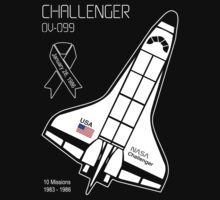 Space Shuttle Challenger by Samuel Sheats