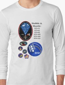 STS-125: The HST-SM4 Mision Logo Long Sleeve T-Shirt