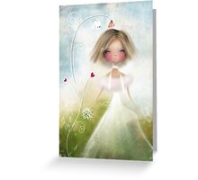 Bird and Bride Greeting Card