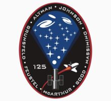 STS-125 Mission Logo One Piece - Long Sleeve
