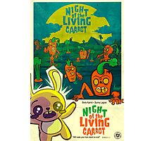 Night of the Living Carrot! Photographic Print