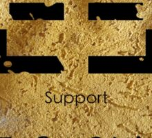 Woforo Dua Pa Adinkra Symbol Sticker