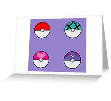 What the Pokeball? Greeting Card