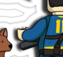 Fallout 4 Wanderer & Dogmeat :) Sticker