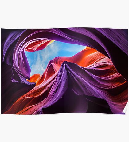 Magical (Lower) Antelope Canyon II Poster