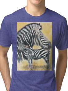 Grant's Zebra Tri-blend T-Shirt