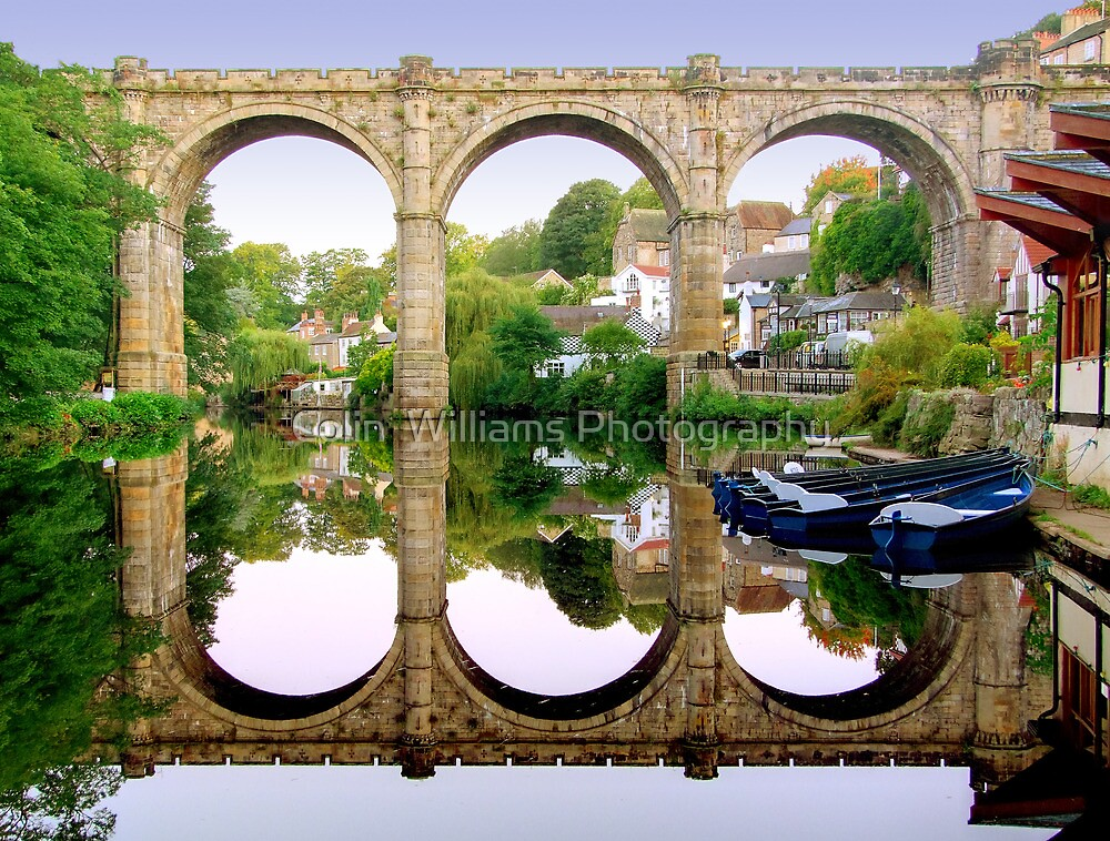 Knaresborough Reflections by Colin  Williams Photography