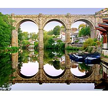 Knaresborough Reflections Photographic Print
