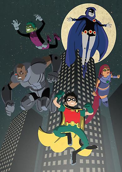 Teen Titans by Fuacka