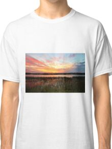 Sunset And Reflections Classic T-Shirt
