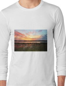 Sunset And Reflections Long Sleeve T-Shirt