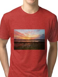 Sunset And Reflections Tri-blend T-Shirt