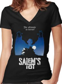 Salems Lot - Movie Poster Women's Fitted V-Neck T-Shirt