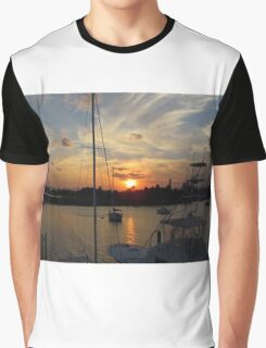 Sunset in Georgetown, SC Graphic T-Shirt
