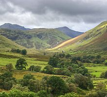 Down Dale And Up Hill by Jamie  Green