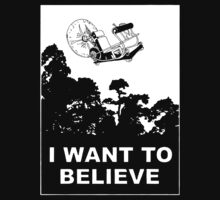 I Want To Believe in Time Machine by VintageTeeShirt