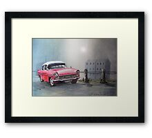 ..wherever you're going, I'm going your way... Framed Print