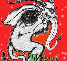 Merry Krampus by Kimberly Wolfe