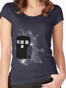Finest box in the Universe Women's Fitted Scoop T-Shirt