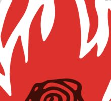 Saul Bass Rose Sticker
