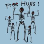 Free Hugs! (BLACK) by ezcreative