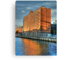 On The Waterfront - Pyrmont, Sydney - The HDR Experience Canvas Print