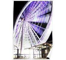 Brisbane Wheel Poster