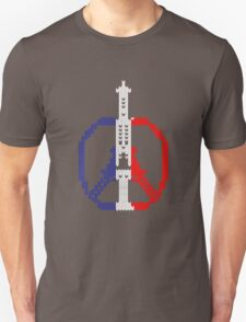 Knitted Peace For Paris T-Shirt
