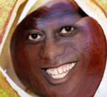 Artist's Impression of the Young Ainsley as a Newly Fallen Conker Sticker