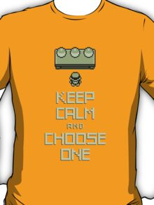 Keep Calm and Choose One T-Shirt