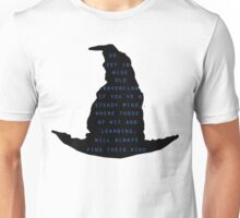 Sorting Hat Ravenclaw Quote Unisex T-Shirt
