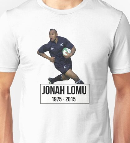 Jonah Lomu Unisex T-Shirt