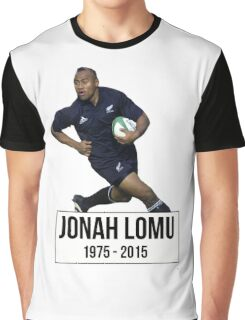 Jonah Lomu Graphic T-Shirt