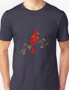Red Cardinal Collage T-Shirt