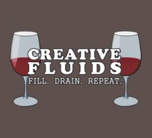Wine, the Fluid of Creativity Kids Clothes