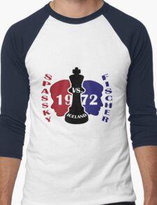 Fischer vs. Spassky 1972 Men's Baseball ¾ T-Shirt