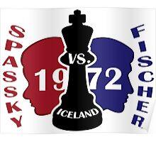 Fischer vs. Spassky 1972 Poster