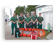 Paramedico: First Aid cover at Southampton Boat Show 2012 Canvas Print