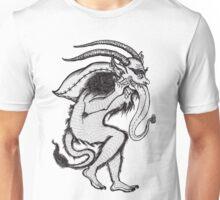 Krampus (Single & Black and White Version) Unisex T-Shirt