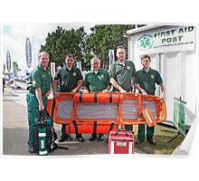 Paramedico: First Aid cover at Southampton Boat Show 2012 Poster